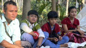 Father, brothers and Naw Neela Oo
