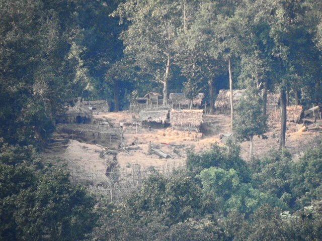 Kae Kaw Burma Army camp