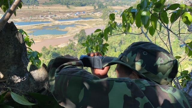 Rangers document Burma Army activity 1