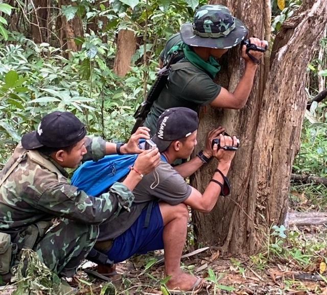 Rangers document Burma Army activity 4