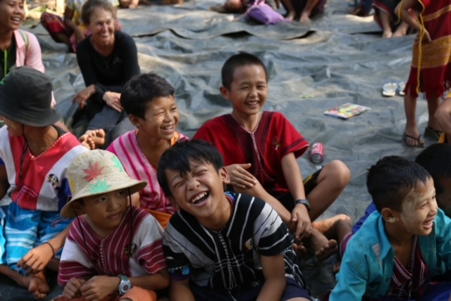 village children at the GLC program