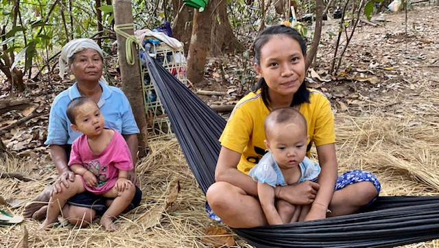 IDP families in the jungle