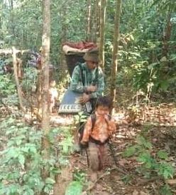 Villagers fleeing Keh Der between 17 -21 January (3)