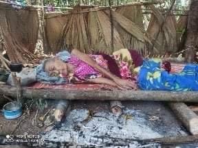 Villagers fleeing Keh Der between 17 -21 January (4)