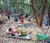 Villagers fleeing Keh Der between 17 -21 January (5)