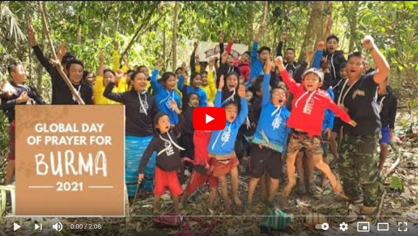 Global Day of Prayer for Burma, 2021 - video