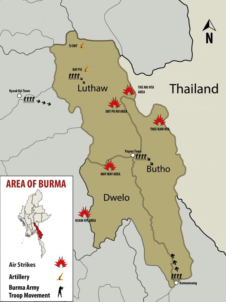 2 April Update Airstrikes in Karen State-02