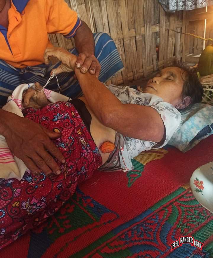 Naw Mu Toh, killed by Burma Army mortar 2
