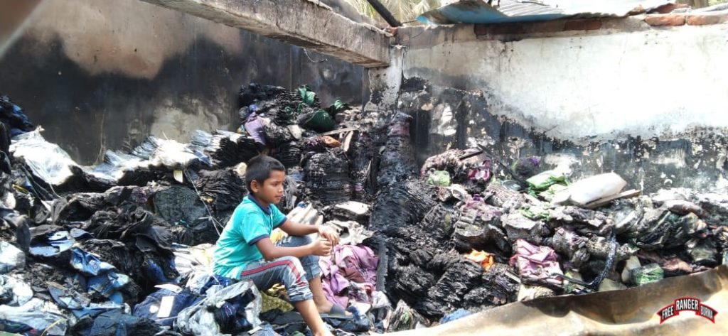 Refugees in aftermath of fires 3