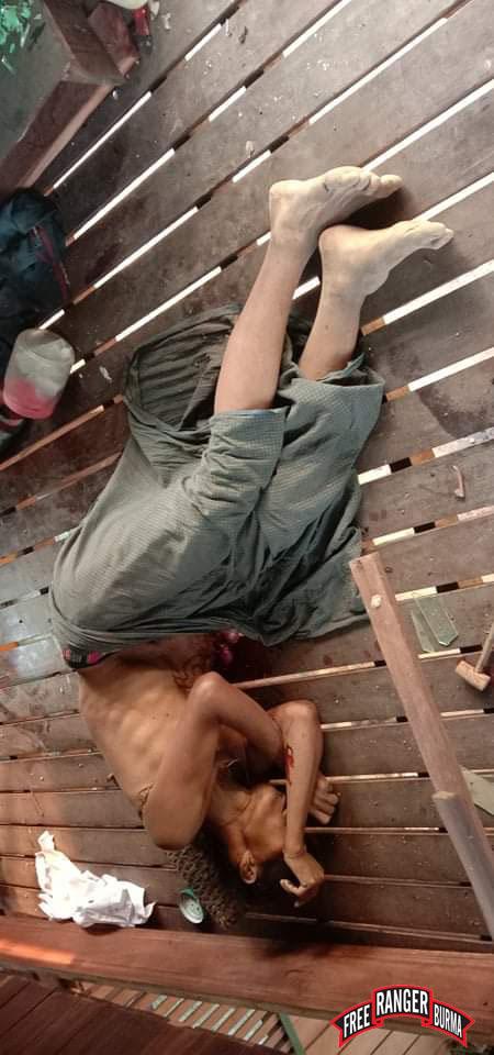 Saw Pah Lo Poe, killed by Burma Army airstrike