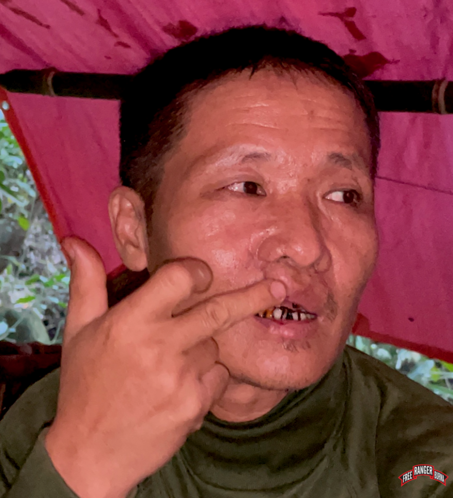 Day Pu No villager wounded in the face